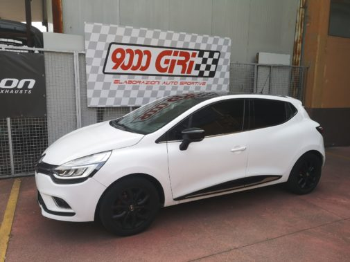 Renault Clio 900 Tce powered by 9000 Giri