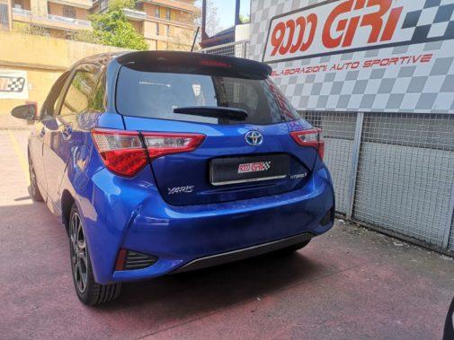 Toyota 1.5 Ibrid powered by 9000 giri