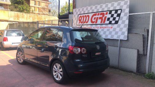 Vw Golf Plus powered by 9000 Giri
