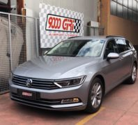 """Elaborazione Vw Passat Variant 2.0 td """"Coming out"""""""