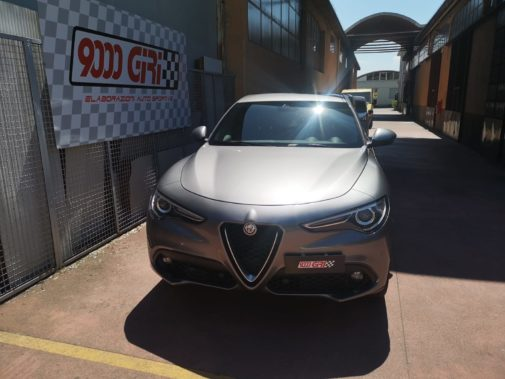 Alfa Stelvio 2.2 td Veloce powered by 9000 Giri
