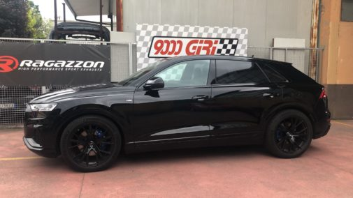 Audi Q8 50 tdi powered by 9000 Giri