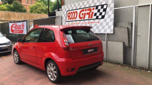 Ford Fiesta St powered by 9000 Giri
