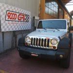 """Elaborazione Jeep Wrangler 2.8 crd """"Pretenders"""""""
