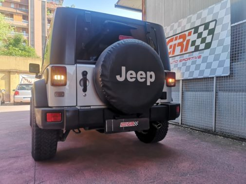 Jeep Wrangler 2.8 crd powered by 9000 Giri