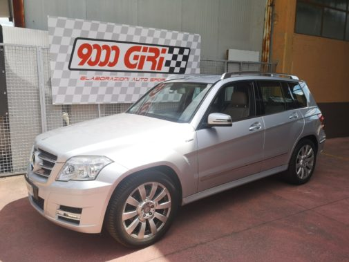 Mercedes Glk 220 cdi powered by 9000 Giri