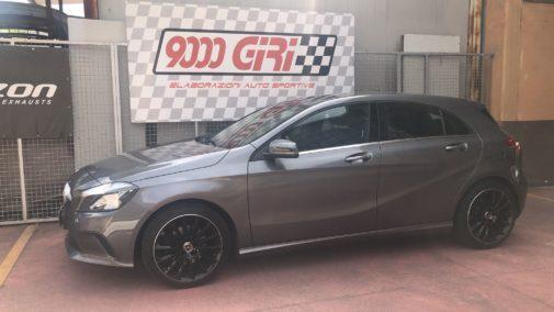 Mercedes A180 powered by 9000 Giri