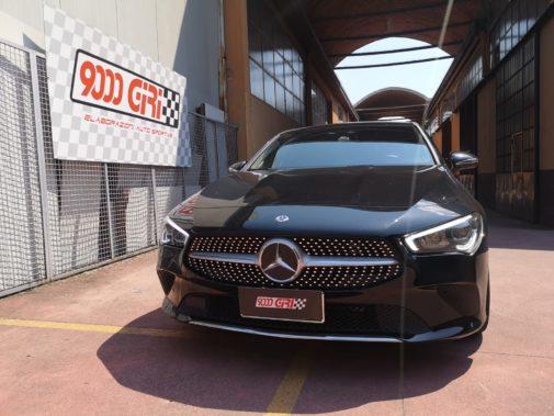 Mercedes cla 220d powered by 9000 Giri