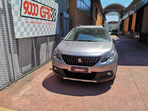 Peugeot 2008 1.2 16v powered by 9000 Giri