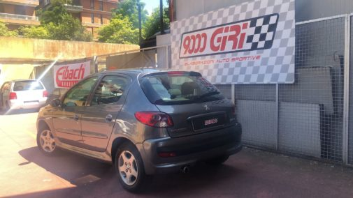 Peugeot 206 1.0 powered by 9000 Giri