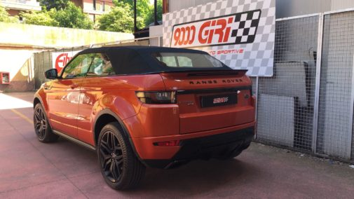 Range Rover Evoque 2.0 tdi powered by 9000 Giri