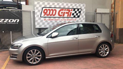 Vw Golf 7.5 powered by 9000 Giri