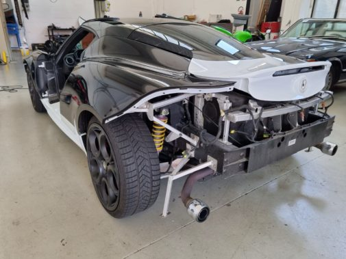 Alfa Romeo 4C powered by 9000 giri