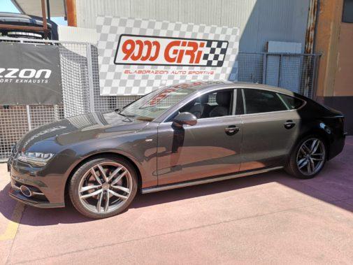 Audi A7 3.0 tdi powered by 9000 Giri