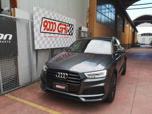 Audi Q3 1.4 tfsi powered by 9000 Giri
