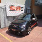 """Elaborazione Fiat 500 Abarth 595 """"Fulmine di guerra"""""""