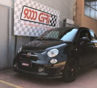 """Elaborazione Fiat 500 Abarth 595 Competizione """"Topper"""""""