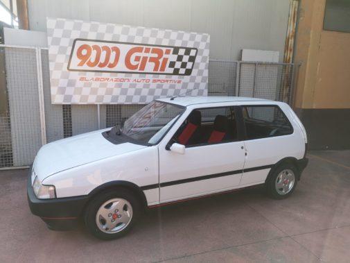 Fiat Uno Turbobb powered by 9000 Giri