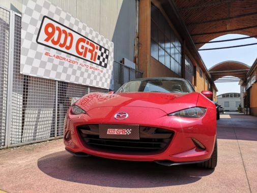 Mazda Mx 5 powered by 9000 Giri