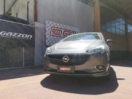 Opel Corsa E 1.2 tb powered by 9000 Giri