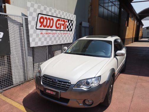 Subaru Legacy Outback 3.0 powered by 9000 Giri