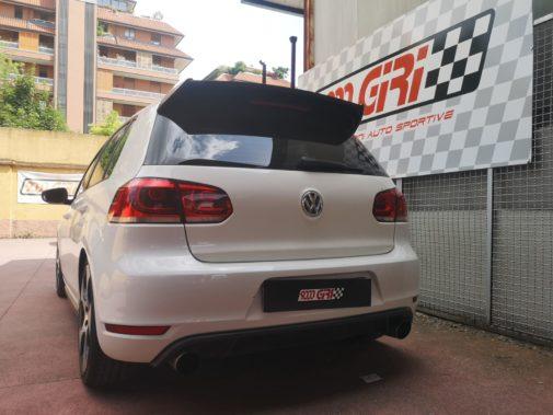 Vw Golf VI gti powered by 9000 Giri
