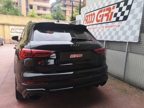 Audi Rs Q3 powered by 9000 Giri