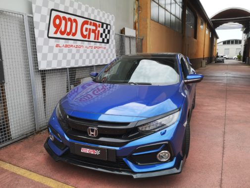 Honda Civi X 1,5 Vtec powered by 9000 Giri