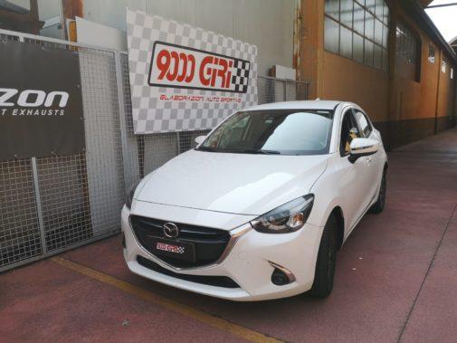 Mazda 2 1.5 powered by 9000 Giri