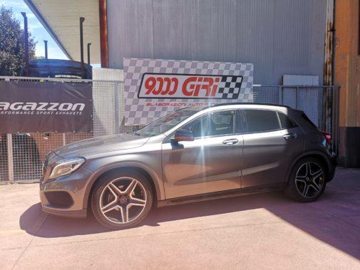 Mercedes Gla 200 tb powered by 9000 Giri