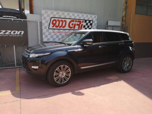 Range Rover Evoque powered by 9000 Giri