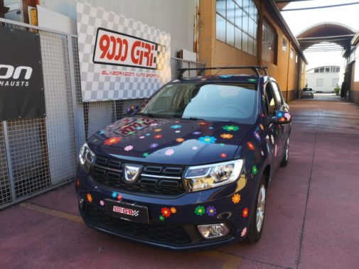 Dacia Sandero 900 tb powered by 9000 Giri