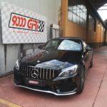 """Elaborazione Mercedes C180 cabrio """"Azimut"""""""