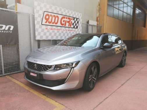 Peugeot 508 sw powered by 9000 Giri