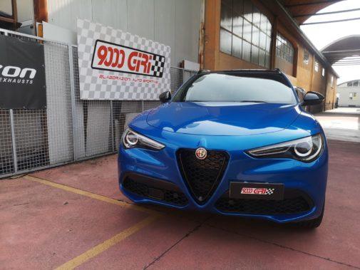 Alfa Stelvio 2.2 Veloce powered by 9000 Giri