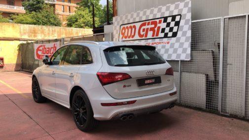 Audi Sq5 powered by 9000 Giri