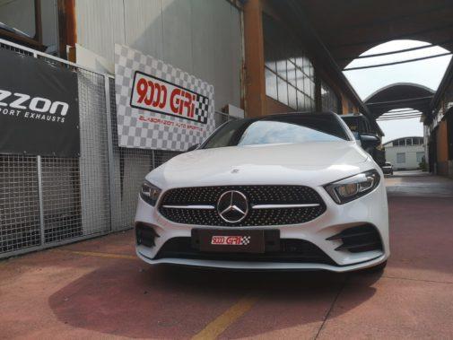 Mercedes A220e powered by 9000 Giri