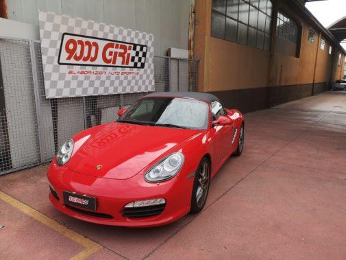 Porsche Boxter S powered by 9000 giri