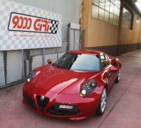 """Elaborazione Alfa Romeo 4C 1.750 tb """"Hell's revenge"""""""
