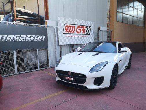 Jaguar FType powered by 9000 Giri