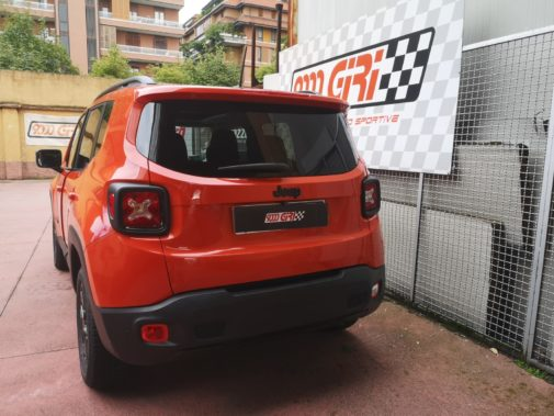 Jeep Renegade 2.0 td powered by 9000 Giri