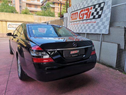Mercedes S350 powered by 9000 Giri