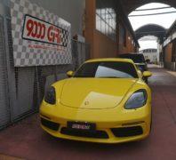 """Elaborazione Porsche Cayman 2.0 tb 718 """"Giallo ginestra"""""""